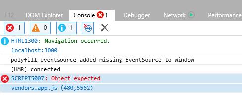 Nuxt JS 2 8 1 won't work in Internet Explorer 11 (IE11) · Question
