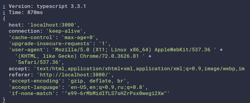 TypeScript Context Request interface · Question #c8592 · Nuxt js